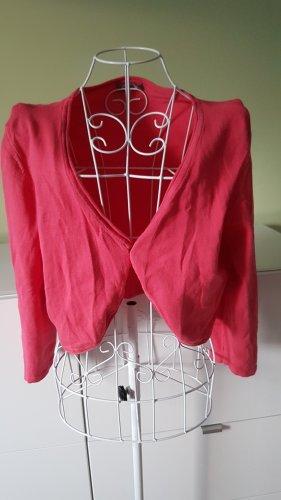 Crop Cardigan // Bolero in Pink Gr. 40 von Cecilia Classics