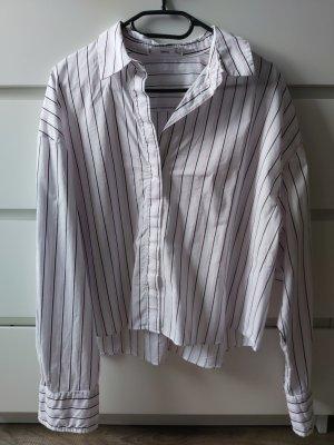 Crop-Hemd aus Baumwolle