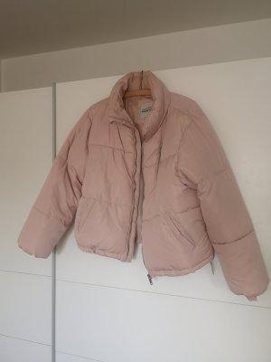 Crop Jacke in rosa