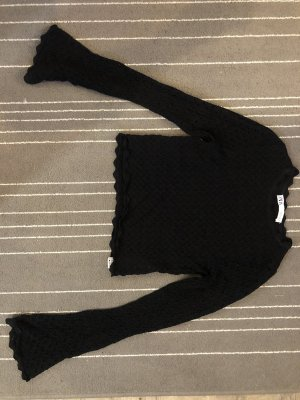 Crop Long arm top / knitwear