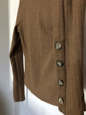 Tally Weijl Jersey de cuello alto marrón claro
