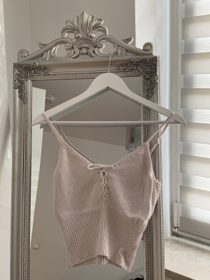 Tally Weijl Cropped Top pink-dusky pink