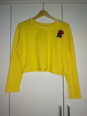 T-shirt court jaune