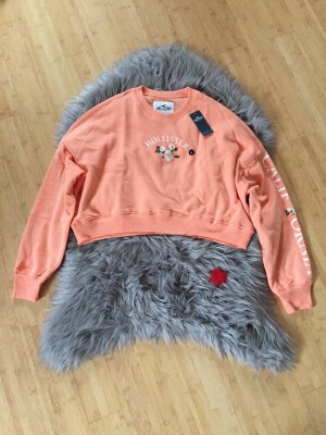 Hollister Cropped Jumper apricot
