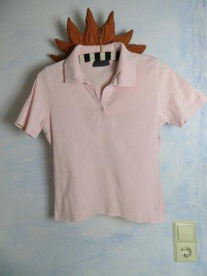 Oui Polo rose clair coton
