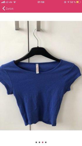 H&M Divided Camisa recortada azul