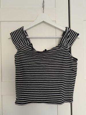 Review T-shirt court noir-blanc