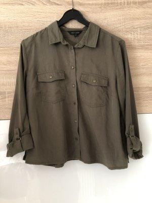 Crop Shirt/ Hemd Khaki