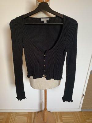 Asos Veste en tricot noir