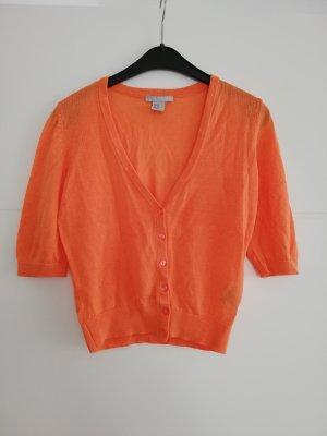 H&M Gebreid vest oranje