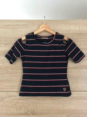 AIKI KEYLOOK Cropped shirt veelkleurig