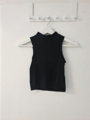 H&M Top corto nero