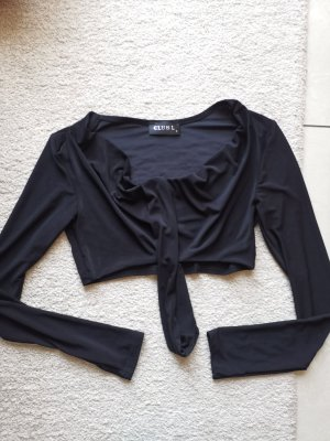 Club L Cropped top zwart