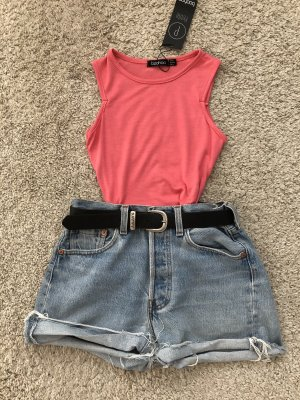 Cropped Top magenta-raspberry-red