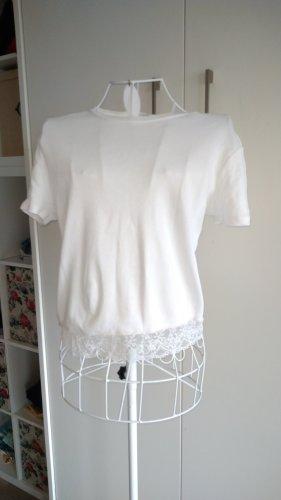 basics clockhouse Cropped Shirt white