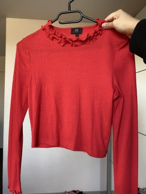 River Island Cropped top rood