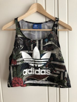 Adidas Crop-top multicolore