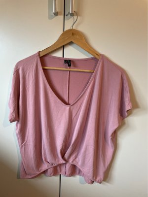 Vero Moda Cropped Shirt rose-gold-coloured