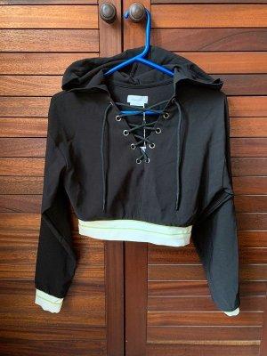 crop top Hoodie Sweatshirt Shirt Oberteil Sweater Pulli revolve Loveres + Friends