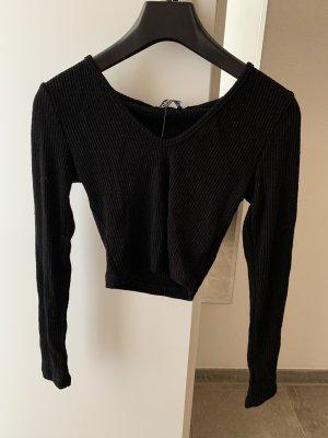 Fashionnova T-shirt court noir