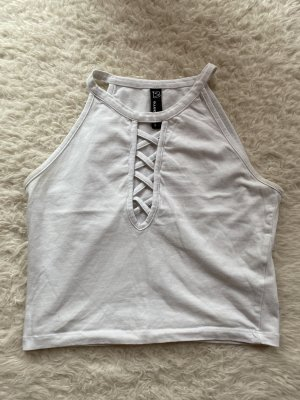 mister*lady Cropped shirt wit