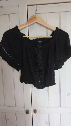 Ambiance Crop-top noir