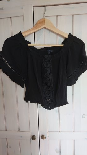 Ambiance Cropped Top black