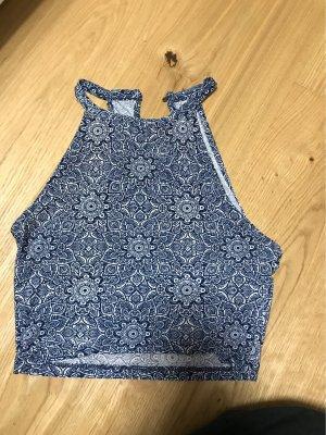 FB Sister T-shirt court bleu-blanc
