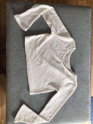 Jersey trenzado blanco