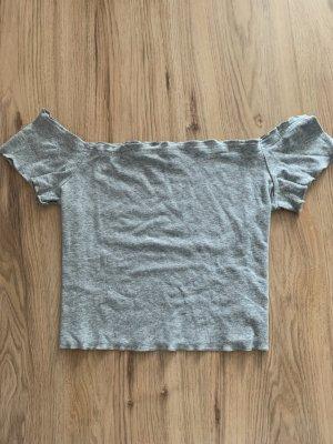 H&M Hauts épaule nues gris clair