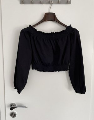 H&M Cropped Top black