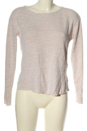 CROPP Crewneck Sweater light grey flecked casual look