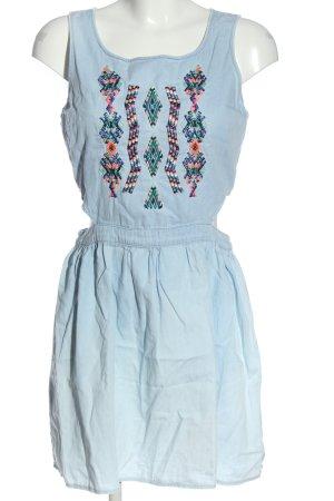 CROPP Pinafore dress blue casual look