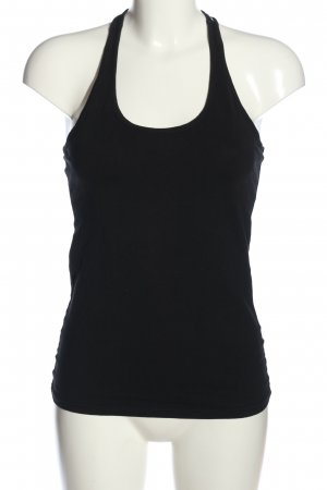 CROPP Strappy Top black-white spot pattern casual look