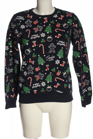 CROPP Christmasjumper abstract pattern casual look