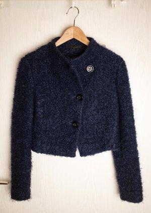 andere Marke Veste courte bleu foncé