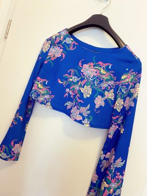 beclaimed vintage Long Sleeve Blouse multicolored