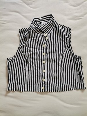 Cropped Bluse gestreift
