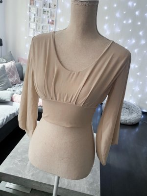 Wraparound Blouse cream