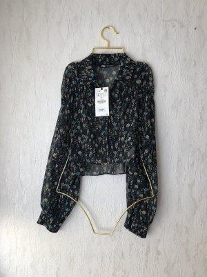 Cropped Bluse Zara S