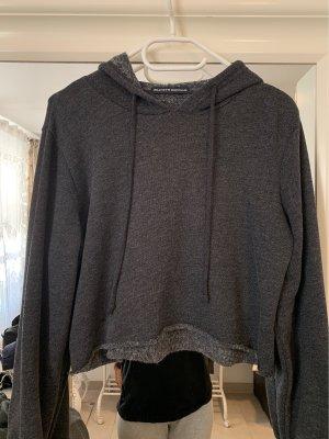 Brandy & Melville Hooded Sweater anthracite-dark grey