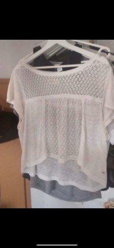 Hollister Koszula o skróconym kroju biały