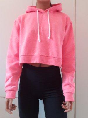 H&M Pull à capuche rose