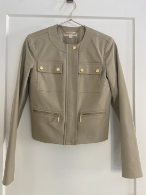 Michael Kors Safari Jacket gold-colored-beige linen