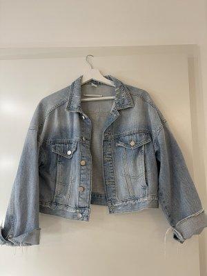 Cropped Jeans Jacke