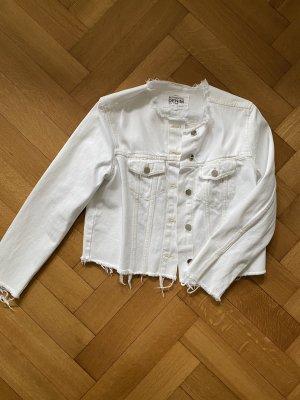 Cropped Jeans-Jacke