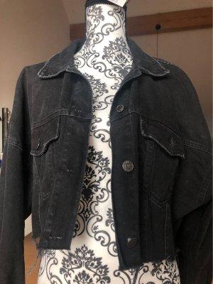Bershka Veste en jean noir