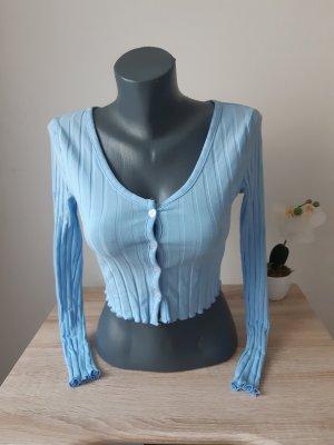 keine T-shirt court bleu clair-bleu azur