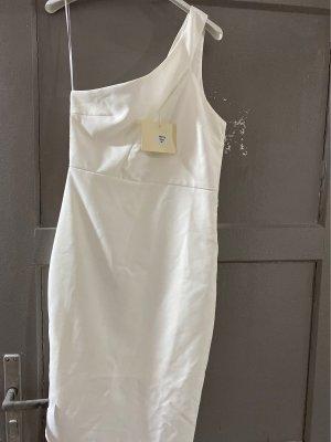 Cropped One Shoulder Kleid