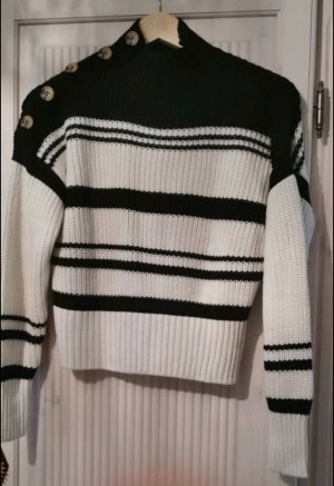 Tally Weijl Knitted Sweater white-black